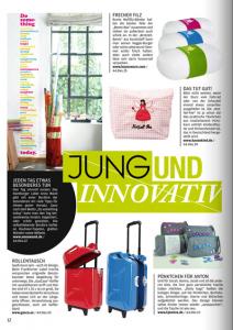 """Unsere LIVING-Bordüre """"Do something"""" auf Seite 12 im aktuellen early bird Magazin..."""