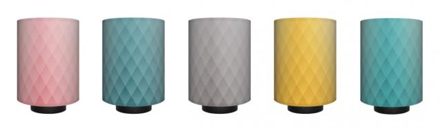 Fünf Farben, die überall passen: Altrosa, Blaugrau, Grau, Curry und Mint.