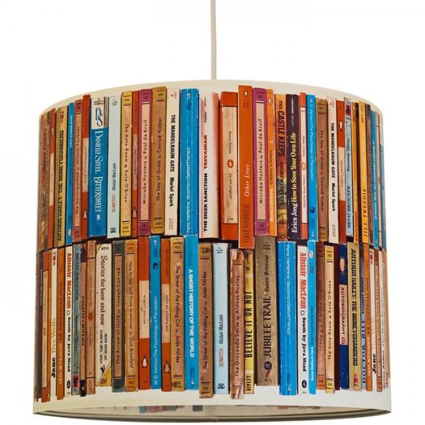"""anna wand Deckenlampe, Hängelampe """"Buch"""" - Rot/Blau"""