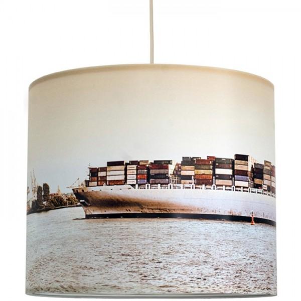 """anna wand Deckenlampe, Hängelampe """"Hamburg Containerschiff"""" - Beige"""