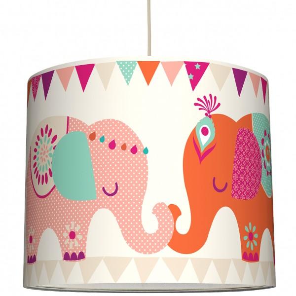 "anna wand Deckenlampe, Hängelampe ""Elefant"" - Rosa/Lila"