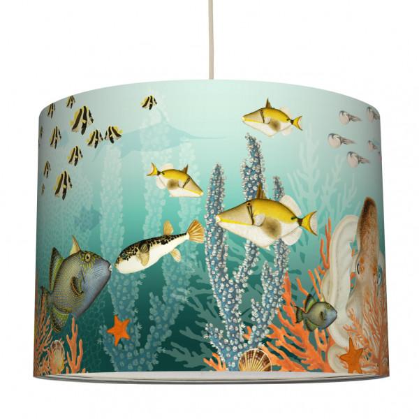 anna wand lampe hängelampe lampenschirm kinderzimmer jugendzimmer badezimmer fische walhai meer aquarium .jpg