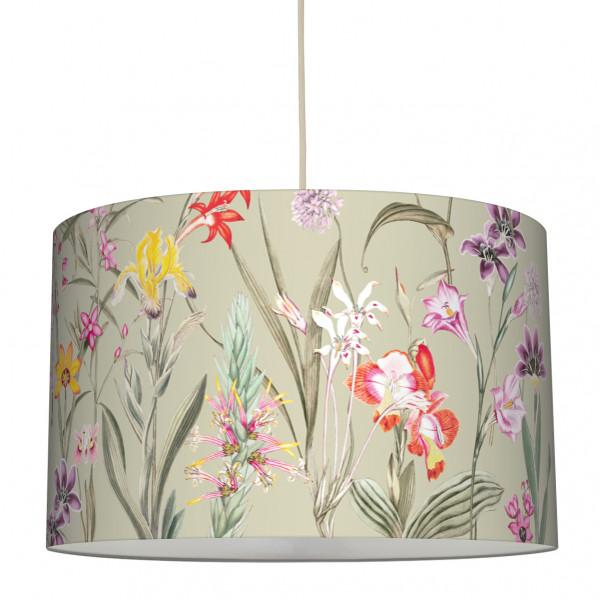anna wand lampe hängelampe lampenschirm blumen boho wohnzimmer küche flur