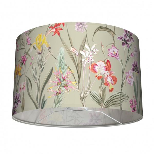 """Tischlampe Stehleuchten Lampenschirm """"Botanical Garden"""" Grün 30 cm"""