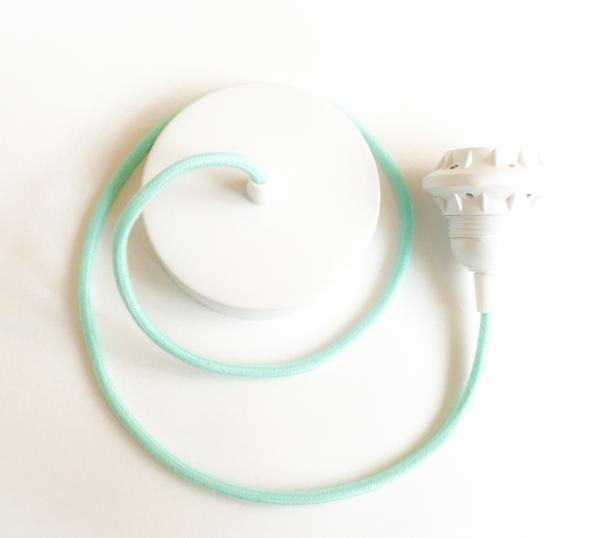 anna wand Leuchtenpendel Leuchtenkabel - Grün/Mint