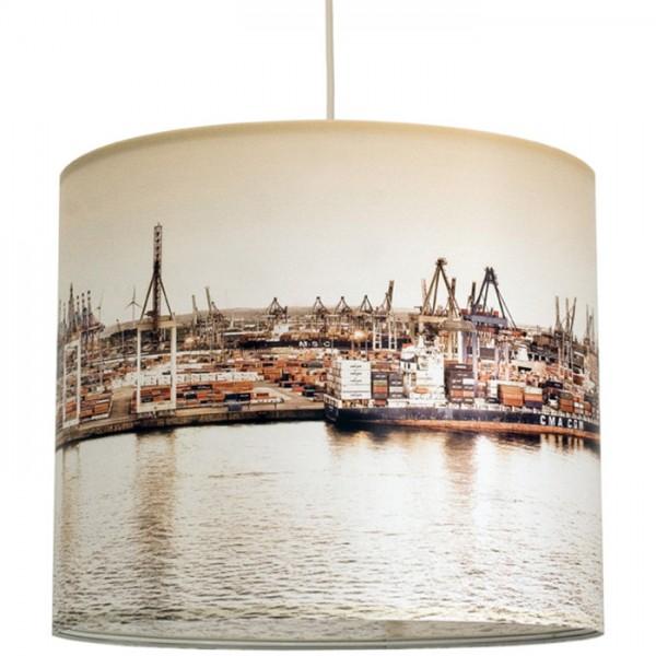 """anna wand Deckenlampe, Hängelampe """"Hamburg Hafen"""" - Beige"""