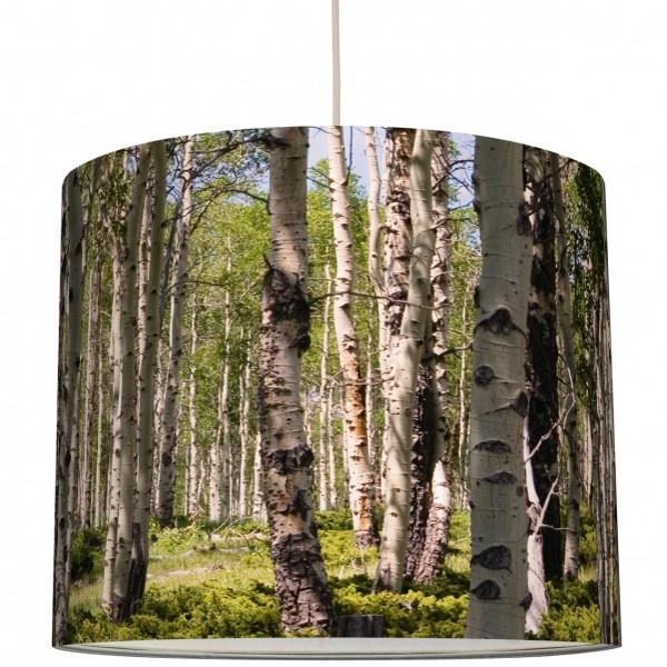 """anna wand Deckenlampe, Hängelampe """"Wald Birke"""" - Grün"""