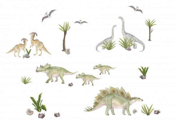 anna wand wandsticker wandtattoos sticker aufkleber stegosaurus dinos dinosaurier kinderzimmer jugendzimmer junge mädchen